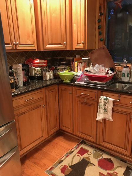 Old cabinets and Counter tops